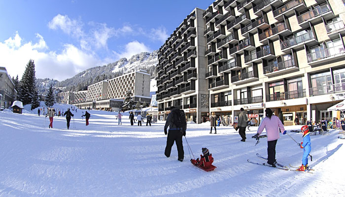 Flaine Ski Resort in Grand Massif