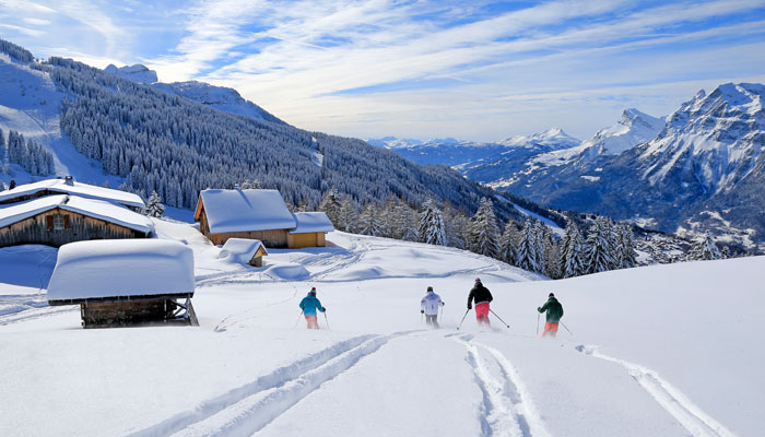 Les Carroz Ski Resort in Grand Massif