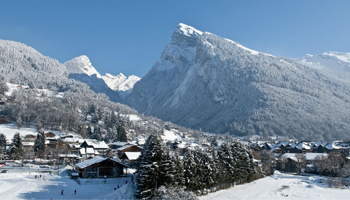 Samoens Ski Village in Grand Massif